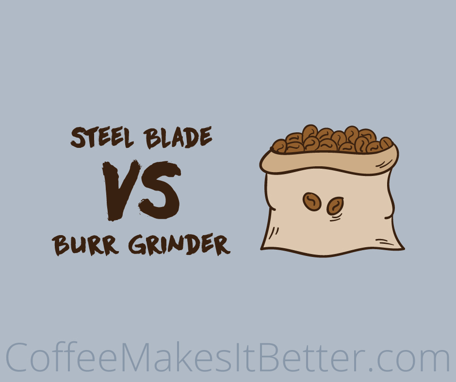 Steel Blade versus Burr Coffee grinder comparison